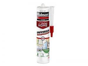 Rubson Cartouche de mastic blanc multi usages Perfect Home - Idéal pour les travaux d'étanchéité - A base de silicone - 1 x 280 ml de la marque Rubson image 0 produit