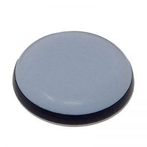 SBS® Patin pour meubles 16 Pièces Téflon auto-adhésif ø 40mm PTFE Force 5mm Dérapage Laflon Super planeurs de la marque SBS image 0 produit