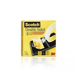 Scotch 665 Ruban Double-face en Boîte Individuelle 19 mm x 33 m de la marque Scotch image 0 produit
