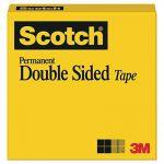 Scotch double face solide Bande, permanent, 1/5,1x 2286cm, livré dans une boîte (665) de la marque 3M image 1 produit