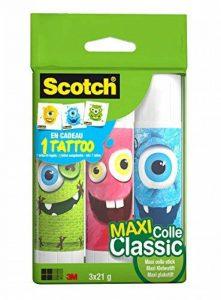Scotch Lot de 3 bâtons de colle 21g Collection Monstres de la marque Scotch image 0 produit