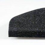 Set de 15 marchettes d'escalier etm® | surface confortable et antidérapante | taille 23x65cm | couleurs diverses - anthracite de la marque etm image 1 produit
