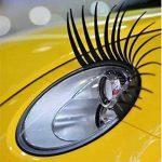 Silence Shopping Noir stéréoscopiques voiture Lashes Phare Cils Accessoires Autocollant 3M de la marque Silence-Shopping image 3 produit