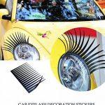 Silence Shopping Noir stéréoscopiques voiture Lashes Phare Cils Accessoires Autocollant 3M de la marque Silence-Shopping image 4 produit
