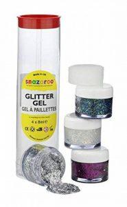 Snazaroo - Déguisement - Set Gels Pailletés - 4 x 8 ml de la marque Snazaroo image 0 produit