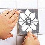 Sticker Art Carrelage Déco Deluxe pour Salle de Bain (Pack avec 56) (20 x 20 cm) de la marque Moonwallstickers.com image 3 produit