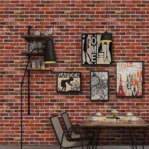 Stickers muraux, hunpta 3D mur papier brique effet pierre autocollant adhésif mur décoration salle (A) de la marque hunpta image 0 produit