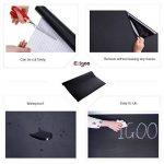 Stickers Tableau Noir Ardoise - Tableau Noir Autocollant Repositionnable - 43cm x 210cm 5 craies - Ezigoo de la marque Ezigoo image 4 produit