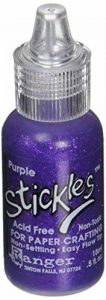 Stickles Glitter colle Ranger Industries 20615 Stickles, Violet de la marque Stickles Glitter Glues image 0 produit