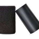 TADAE 10cm large 1 mètre long crochet auto-adhésif et bandes collantes en nylon de boucle avec la colle collante imperméable à l'eau de la marque TADAE image 1 produit