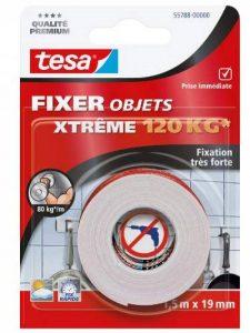 Tesa 55788-00000-00 Fixer Objets Xtreme 120 kg 1,5 m x 19 mm de la marque Tesa image 0 produit
