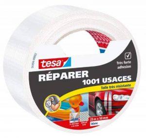 Tesa 56494-00002-00 Réparer 1001 Usages Toile Très Résistante 25 m x 50 mm Blanc de la marque Tesa image 0 produit