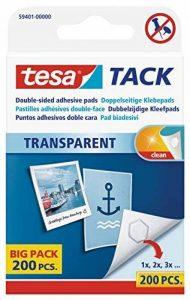 tesa Tack 200 Pastilles adhésives Double-face de la marque Tesa image 0 produit
