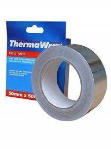 Thermawrap Ruban d'aluminium adhésif pour isolation étanche 50 m x 50 mm x 50 x 30 m de la marque Therma Wrap image 0 produit