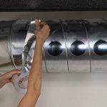 TiGree Ruban Adhésif Aluminium Bande d'étanchéité, 25m par 50mm, Couleur Argent de la marque TiGree image 3 produit