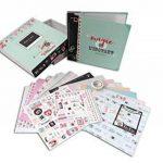 Toga KT75 Clic Clac Kit de Scrapbooking Scrapbox Clic Clac Papier Multicolore 23,5 x 26 x 5,5 cm de la marque Toga image 2 produit