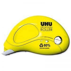 UHU - 1 x Roller de colle Dry & Clean Roller, non permanent de la marque UHU image 0 produit
