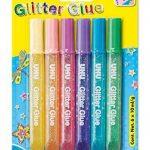UHU 28564 Colle Paillettes Shinys Fluo Glitter Glue Blister 6 Tubes de la marque UHU image 1 produit