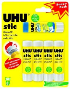 Uhu 45275 Lot de 5 Bâtons de colle avec 4 bâtons Stic et 1 bâton Magic Stic 8,2 g (Import Allemagne) de la marque UHU image 0 produit