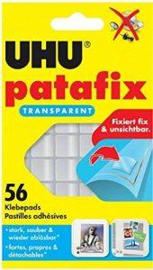 UHU 48815Pastilles adhésives patafix, repositionnable, transparent de la marque UHU image 0 produit