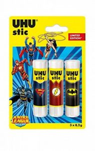 UHU 52915Stic Super Hero jusitce League Bâton de colle de la marque UHU image 0 produit