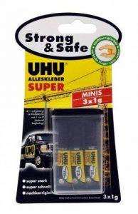 Uhu Colle Instantan?E Super Strong & Safe Minis 3 Tubes de de la marque UHU image 0 produit