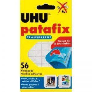 Uhu Pads adhésifs patafix transparent amovibles VE=56 Pièce de la marque Uhu image 0 produit