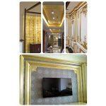 ULTNICE Imitation Feuille d'or pour Décoration Emballage Encadrements Artisanat Décoration 100 Feuilles de la marque ULTNICE image 2 produit