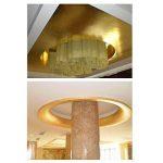 ULTNICE Imitation Feuille d'or pour Décoration Emballage Encadrements Artisanat Décoration 100 Feuilles de la marque ULTNICE image 4 produit