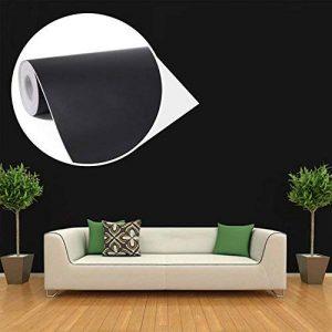 Uniquebella Papier peint Trompe l'oeil 45cmx10M Noir 3D Sticker mural autocollant Amovible Décoration murale de la marque UNIQUEBELLA image 0 produit