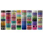 UOOOM Multi-pattern Washi Tape Ruban Adhésif Papier Décoratif Masking tape Scrapbooking (10 modéles) de la marque UOOOM image 2 produit