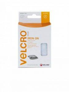 Velcro VEL-EC60319 Ruban auto agrippant Thermocollant 20 mm x 100 cm Blanc de la marque Velcro image 0 produit
