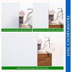 VELIMAX Film Blanc de Fenêtre Protége Intimité Film Blanc Statique en Verre Électrostatique Autocollant Film de Fenêtre pour Maison Bureau Salle de Bain Chambre Cuisine (90x200CM) de la marque VELIMAX image 6 produit