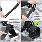 Vélos Fixie Pédale Sangles de Pédale de Vélo pour Fixé Équipement Bicyclette, Noir de la marque Outus image 2 produit