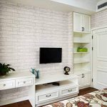 Waahome papier peint, Brique papier peint pour maison de cuisine chambre à coucher de salle de bain Décoration (Gris) de la marque WaaHome image 1 produit