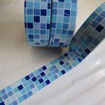 Washi Twin Lot de 2rouleaux de ruban adhésif 15mm x 10metres briques colorées et carrelage de la marque SusieBsupplies image 2 produit