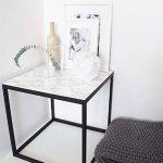 WDragon Film adhésif papier peint brillant pour plan de travail de cuisine, en vinyle imprimé marbre blanc gris, 61x 200,7cm de la marque WDragon image 3 produit