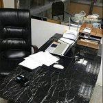 WDragon Revêtement autocollant en vinyle pour plan de travail de cuisine effet marbre noir/gris 61x 200,7cm, Vinyle Plastique, 24in X 79in de la marque WDragon image 2 produit