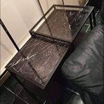 WDragon Revêtement autocollant en vinyle pour plan de travail de cuisine effet marbre noir/gris 61x 200,7cm, Vinyle Plastique, 24in X 79in de la marque WDragon image 4 produit