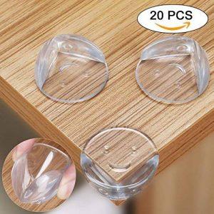 YISSVIC 20pcs Protection Coin de Table Bébé pour la Sécurité de Anti-choc des Coins de Meuble avec la Meilleure Bande Adhésif de la marque YISSVIC image 0 produit