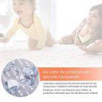 YISSVIC 20pcs Protection Coin de Table Bébé pour la Sécurité de Anti-choc des Coins de Meuble avec la Meilleure Bande Adhésif de la marque YISSVIC image 3 produit