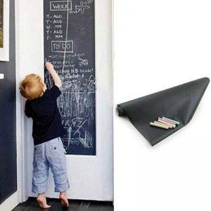 Youpin Removable Blackboard auto-adhésif 200 cm x 45 cm-En Papier autocollant mural tableau noir Schoolhouse mural en vinyle en vinyle avec craies de la marque Youpin image 0 produit
