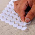 Yulakes 250 paires de fermetures bouton en nylon autocollantes, points ronds de 15 mm, Lot de 500 de la marque Yulakes image 3 produit