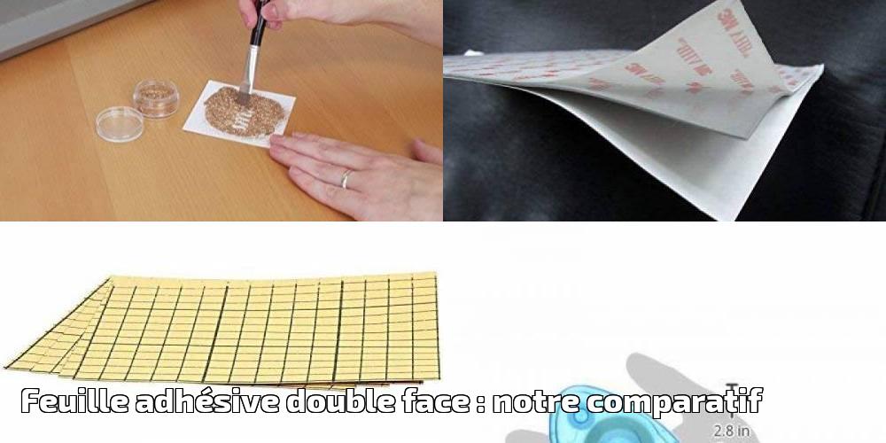 Feuille adh sive double face notre comparatif pour 2020 - Film transparent pour table en verre ...