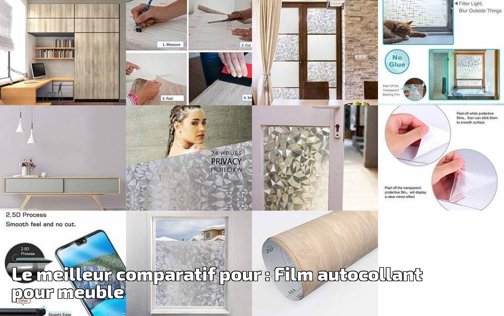 le meilleur comparatif pour film autocollant pour meuble. Black Bedroom Furniture Sets. Home Design Ideas